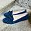 Thumbnail: Leder Loafer Blau