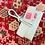 Thumbnail: Minze farbe Leder pochette