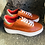 Thumbnail: Rostfarbe Leder  Sneaker  Phyton
