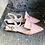 Thumbnail: Rosé Leder Ballerina-Art