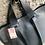 Thumbnail: Hochwertige Hirschleder-Tasche in schwarz, Made in Italy