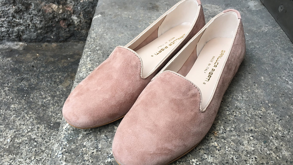 Leder Loafer zwiebelfarben