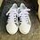 Thumbnail: Leder Sneaker  in weiß mit Leopard-Optik Einsätze