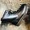 Thumbnail: Leder Schnürstiefelette, Dr. Martens-Style, schwarz