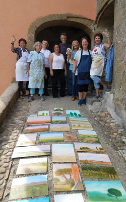 Showing off our new Italian Paintings!