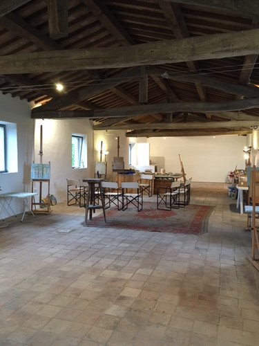 Plenty of studio space for your latest creations