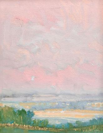 pink blush on the horizon 15x12 opaper 3