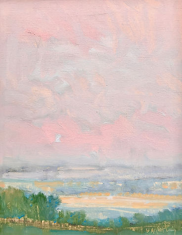 pink blush on the horizon 15x12 opaper 3