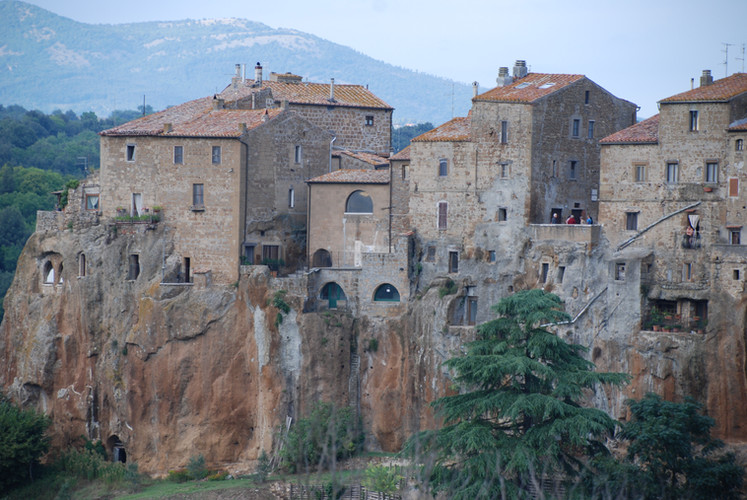 Farnese's old town area
