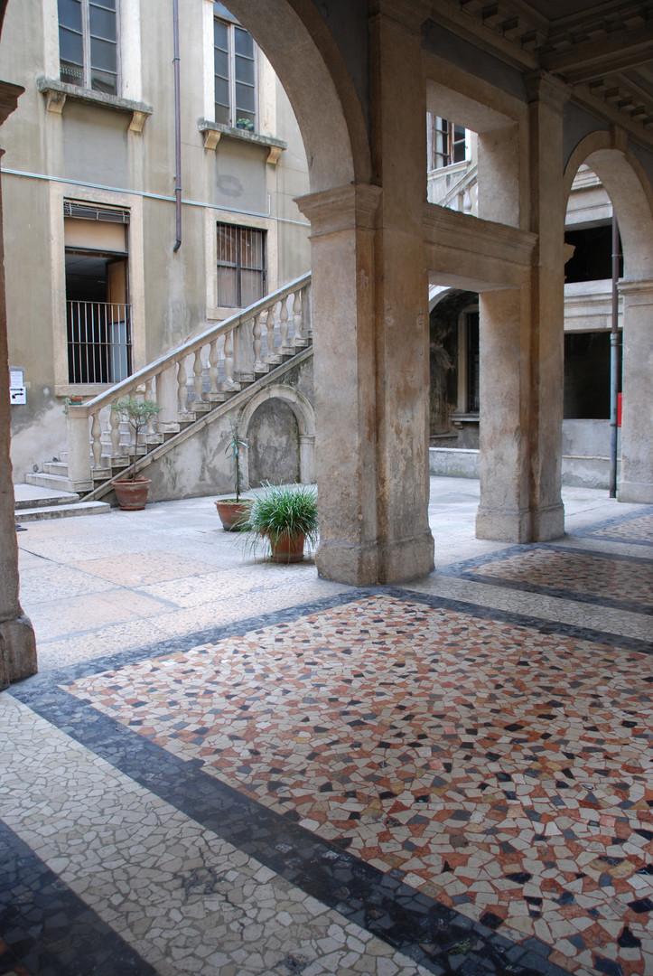 Scenic courtyard