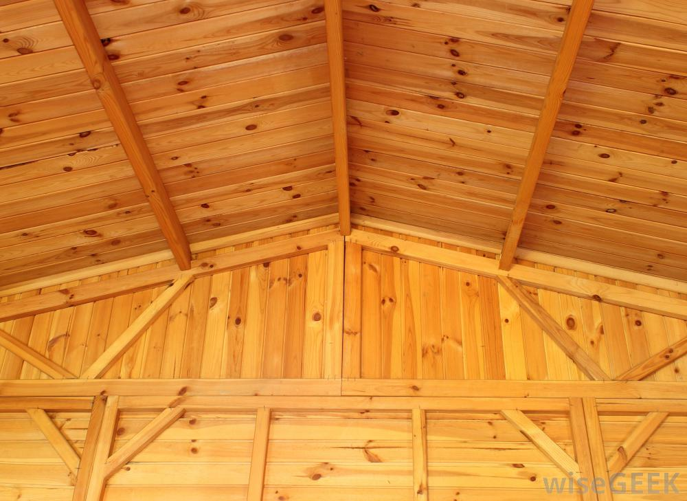 wooden-joists-on-ceiling