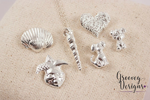 "Choice of Fine silver pendant GD207 ""A Few of My Favorite Things"""