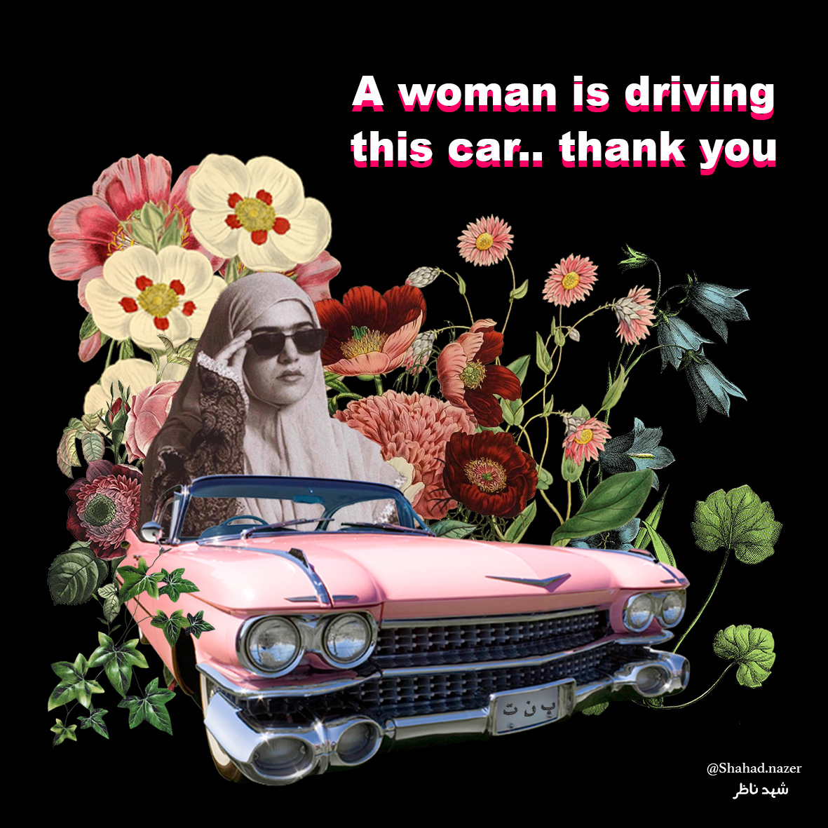 women driving english