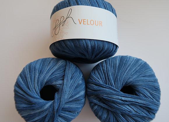Paket 9x Velour (Blau)