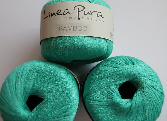 Paket 10x Linea Pura Bamboo (Gletscherblau)
