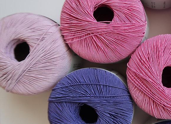 Mischpaket 9x Filo  (Pink-Violett Schema)