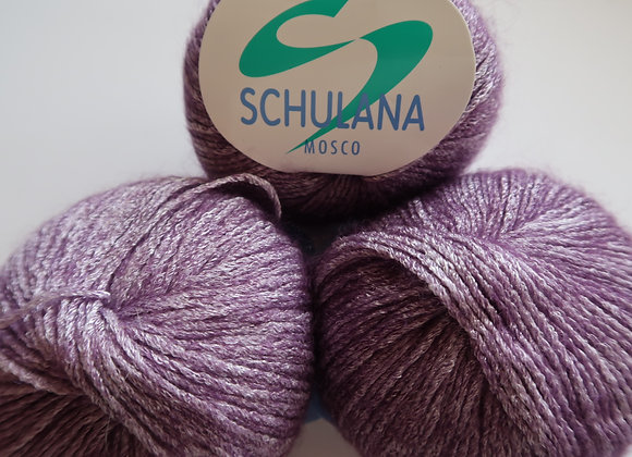 Paket 3x Schulana Mosco (Violett-Weiss)