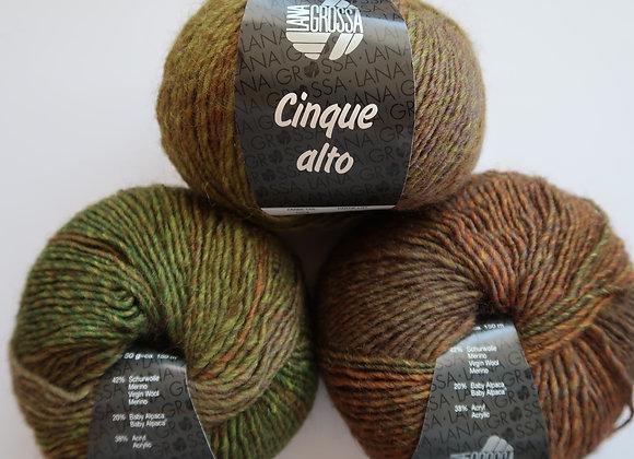 Paket 7x Cinque alto (Chameleon-Farbmix)