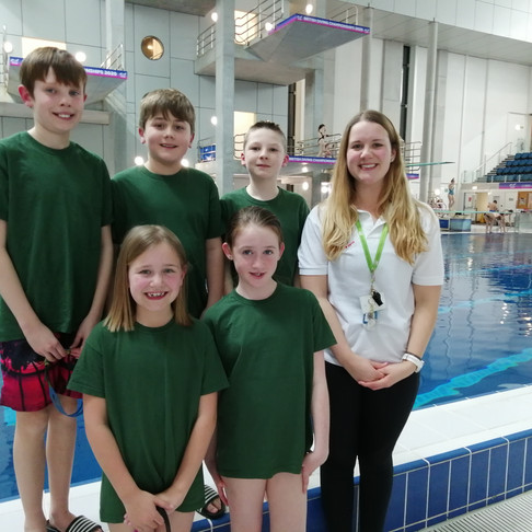 First ever Lipson Vale Swimming Team compete in Schools Gala
