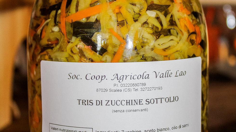 Tris di zucchine Sott'olio