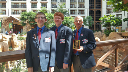 Montana TSA Members Receive Awards at National TSA Conference