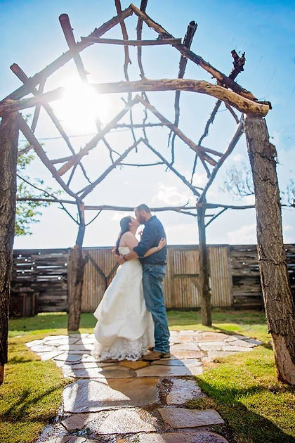 Rustic Outdoor Wedding Ceremony Space