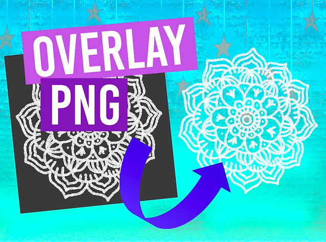 How To Make Overlays PNG