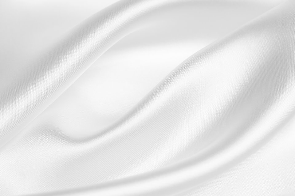 Satin blanc