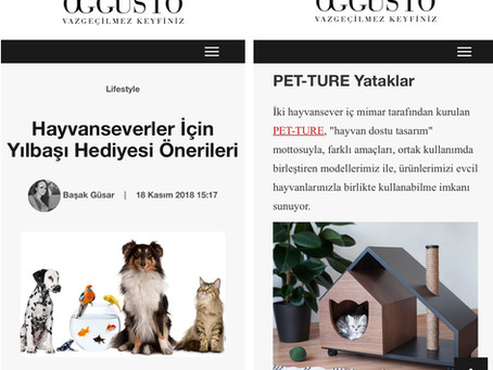 PET-TURE in Magazines and Digital Platforms