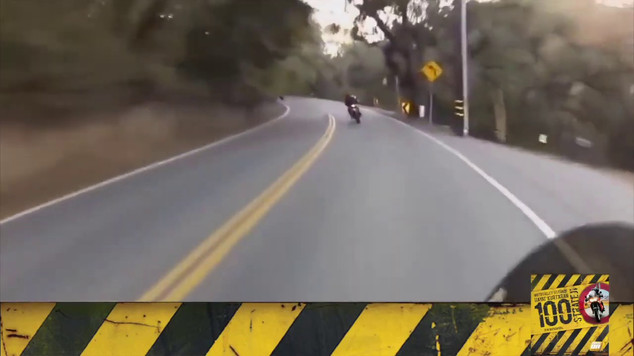 Motosiklet Kazası - Karşı Şeridi Hesaba Kat