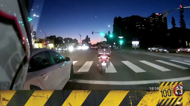 Motosiklet Kazası - Karanlıkta Risk Katlanır