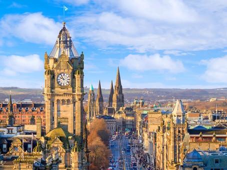 İskoçya'nın başkenti: Edinburg