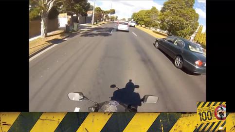 Motosiklet Kazası - Yol Kesme