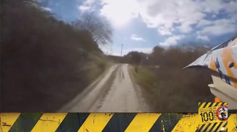 Motosiklet Kazası - Arazide Yolları Boş Sanma