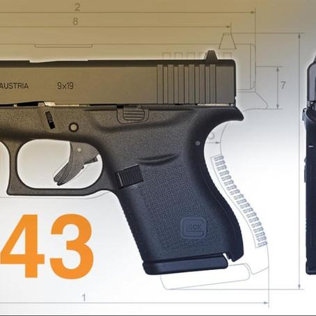 Glock'un 9mm Üyesi : Glock 43