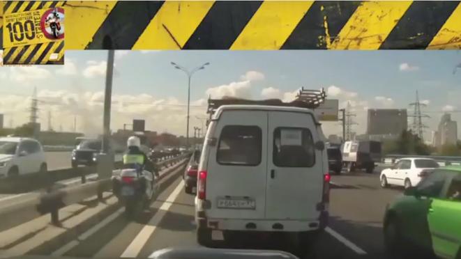 Motosiklet Kazası - Tehlikenin Hangi Kapının Ardında Olduğunu Bilemezsin