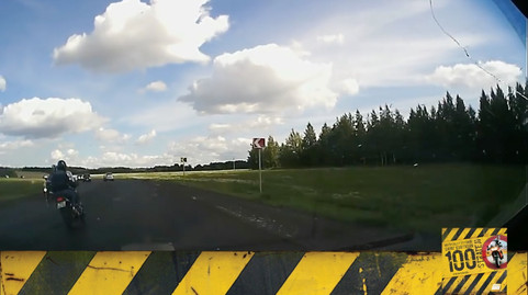 Motosiklet Kazası - Artçının Patates Çuvalı Olmasını Sağla!