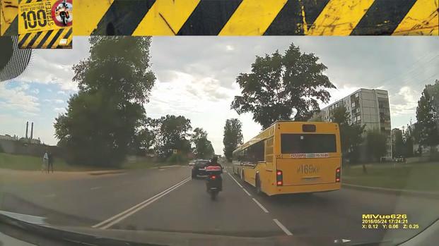 Motosiklet Kazası - Fren Refleksini Terbiye Et!