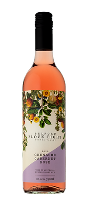 GRENACHE CABERNET ROSÉ 2020 Block Eight