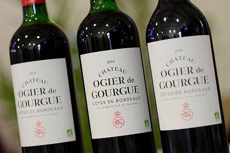 2015 Chateau Ogier de Gourgue Organic Wine Red Wine Bordeaux Wine Medium Body Wine