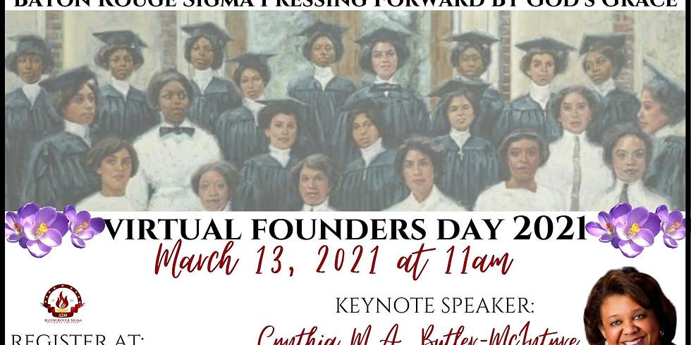 2021 Baton Rouge Sigma Alumnae Chapter Founders Day Program