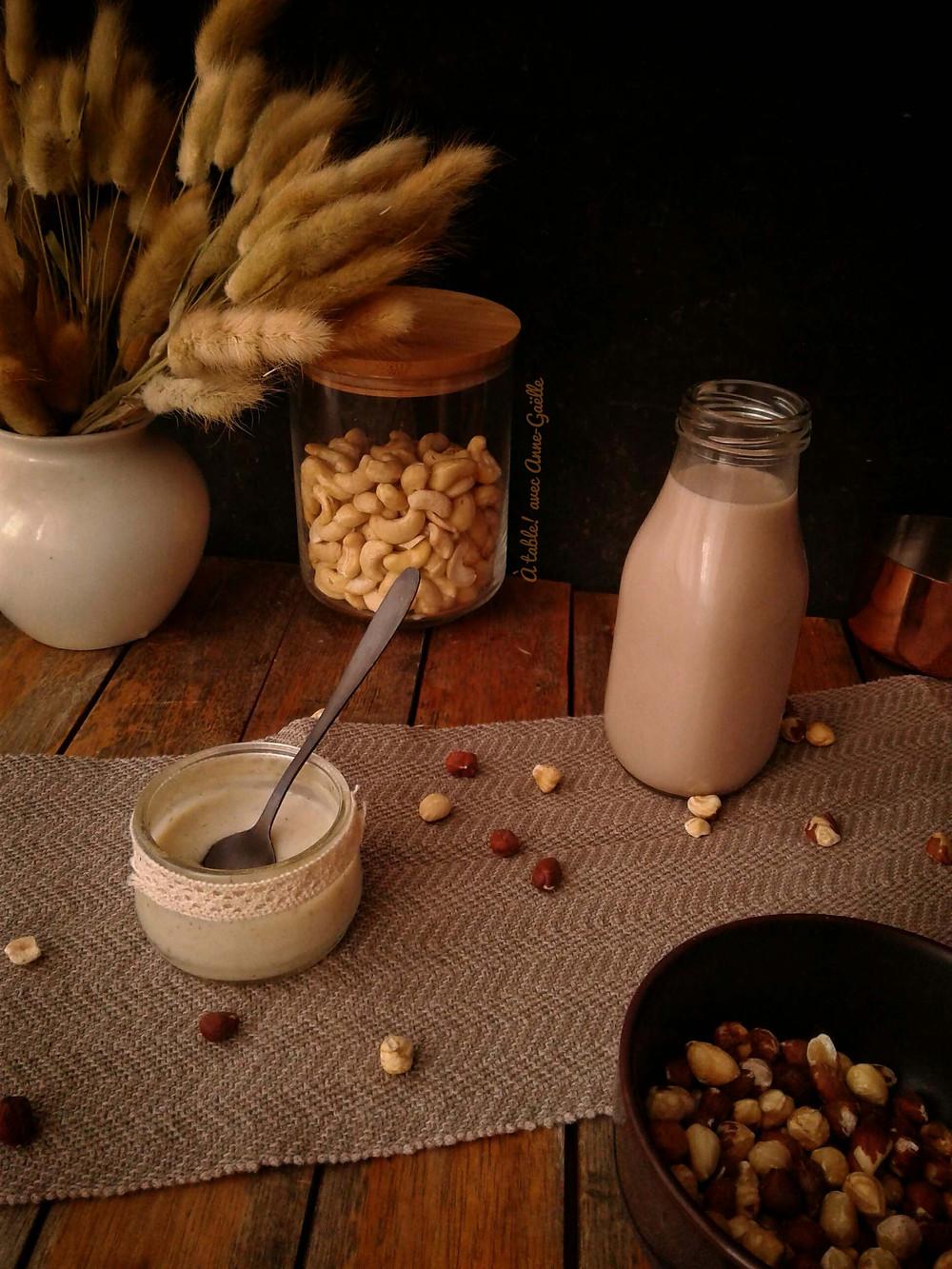 Substituts végétaux pour l'eviction des protéines de lait de vache