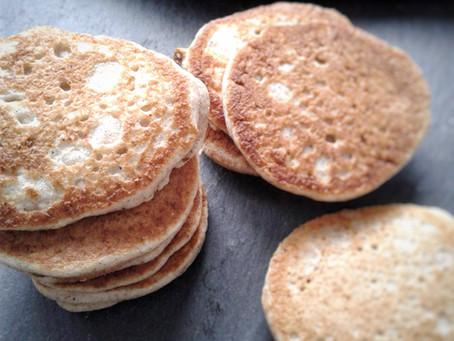 Blinis au sarrasin (sans gluten)