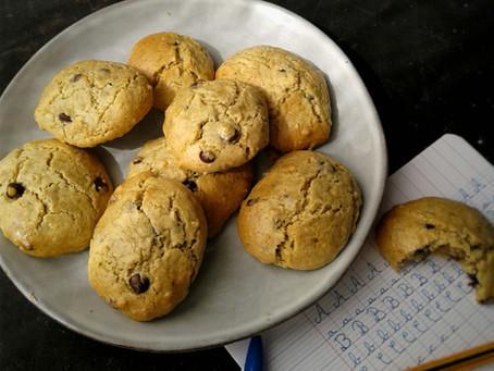Spécial confinement: cookies sans farine!