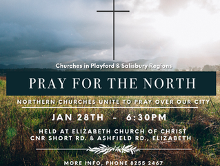 PRAYER FOR THE NORTH