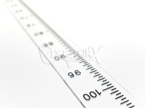 Régua Escanográfica com Escala de 100cm