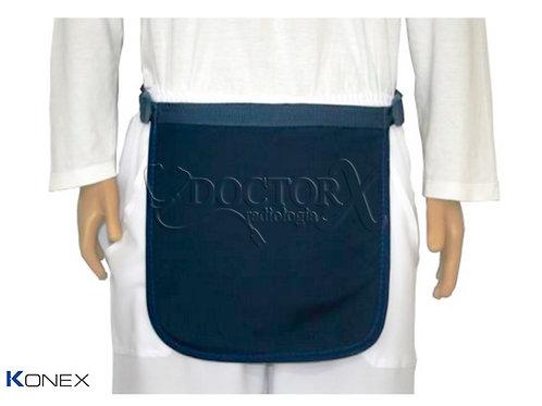 Avental para proteção de Órgãos genitais 30x30cm 1,00mm Pb