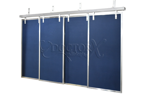 Cortinas Plumbíferas com Chumbo de 2mm - azul