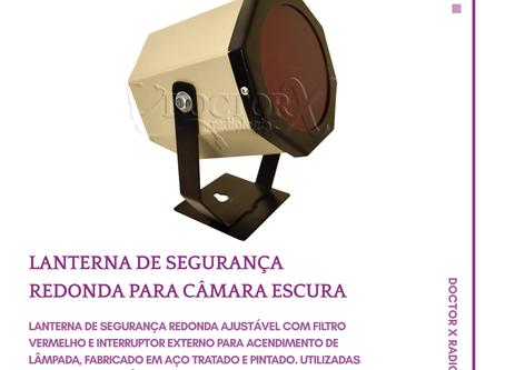 Lanterna de Segurança Redonda para Câmara Escura ☢️