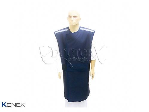 Avental Plumbífero com Proteção nas costas 0,50mm Pb 100x60cm